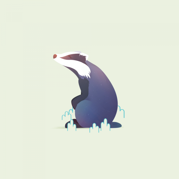 Animal Minis - Badger